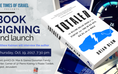 TOTALED book signing and launch in Jerusalem